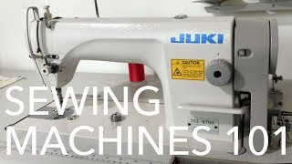 Intro to Industrial Sewing Machines width=