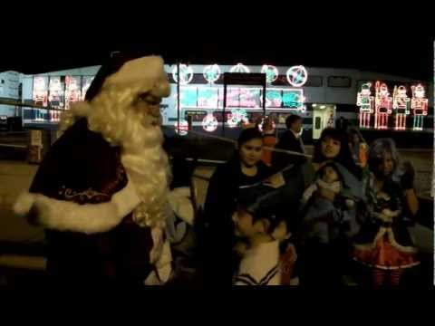 Metrolink Holiday Toy Express Christmas Train 2012