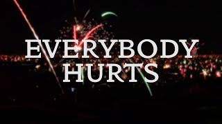 Everybody Hurts - R.E.M. (Cover with lyrics)