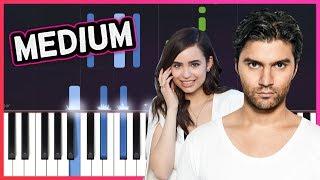 """R3HAB x Sofia Carson - """"Rumors"""" Piano Tutorial"""