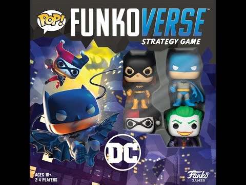 Reseña Funkoverse Strategy Game: DC Batman 100