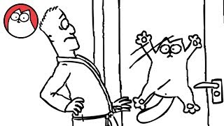 Let Me In! - Simon's Cat