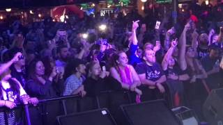 Rittz strange music backstage in indy with shadowink