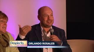 Orlando Rosales en la Conferencia de Radio Hispana en Miami