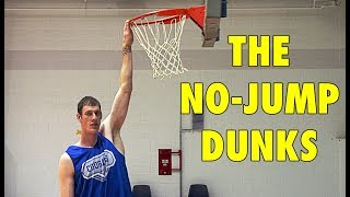 5 Basketball Players Who Did The NO-JUMP DUNKS