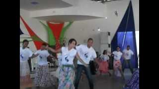 Grupo de coreografia da UMADER.