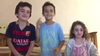 Niños Imitando a Nicky Jam - Hasta el amanecer