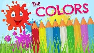 Los COLORES en inglés para niños - Vocabulario en español e inglés width=