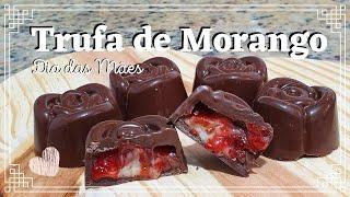 miniatura TRUFA DE MORANGO (PRESENTE DIA DAS MÃES) - #FiqueEmCasa e Cozinhe #Comigo