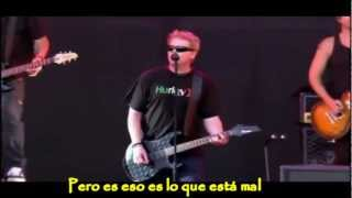 The offspring - Want you bad - live en HD Subtitulada
