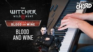 Witcher 3 - Blood and wine (Piano cover + Sheet music)