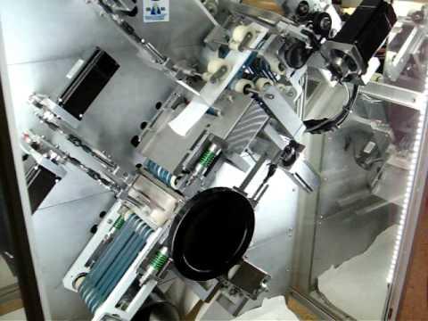 Lamasan Spanç Kesme ve Katlama Makinesi test videoları 2