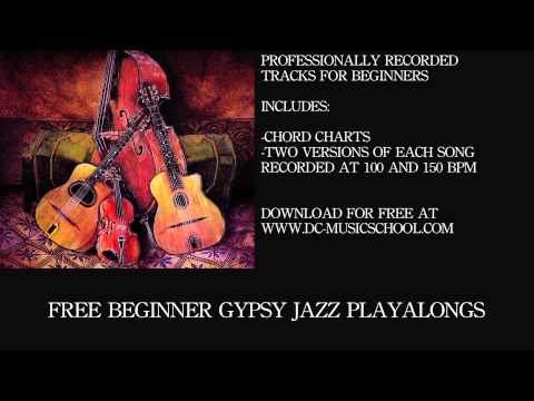 Beginner Gypsy Jazz Playalong Sweet Georgia Brown Chords Chordify