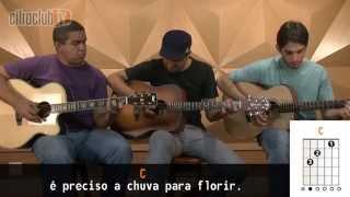 Videoaula Tocando em Frente (aula de violão completa)