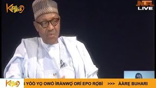 President Buhari and Vice President, Osinbajo's Town Hall Meeting
