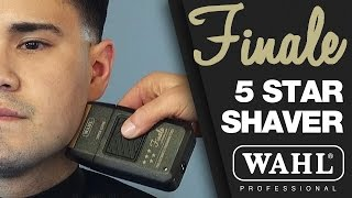 WAHL Finale 5 Star Shaver - The Ultimate Finishing Tool - Product Video