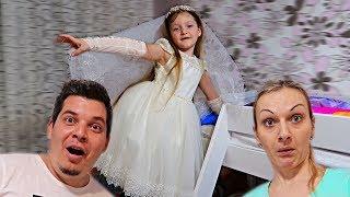 VREAU SA FIU MIREASA!!! Sofia se Marita! Aventuri cu Sofia si Sara/ Video pentru copii For Kids