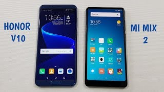 Honor V10 vs Mi Mix 2 SPEEDTEST | WHICH IS FASTER !