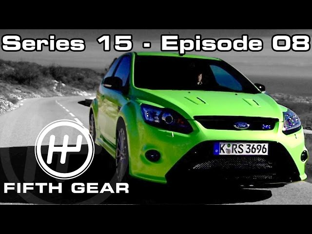 Jason drives the Focus RS