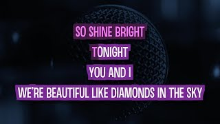 Diamonds (In The Sky) Karaoke Version by Rihanna (Video with Lyrics)