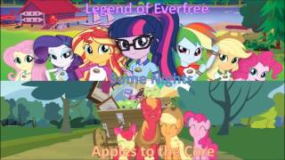 MLP Mashup (Legend of Everfree/Some Nights/Apples to the Core)