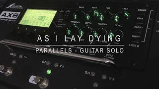 As I Lay Dying - Parallels (Guitar Solo)
