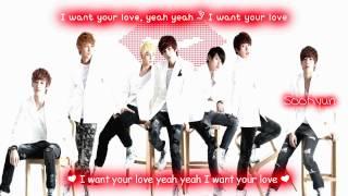 U-Kiss Cinderella [Eng Sub + Romanization + Hangul] HD