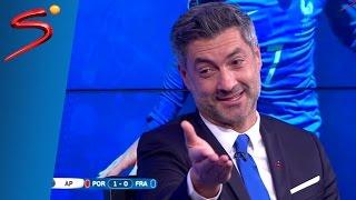 Eder Goal Reaction Euro 2016 Final - Vítor Baía