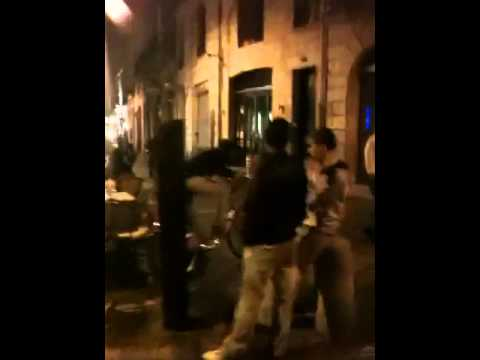 Fire And Fight In Bordeaux