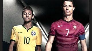 Cristiano Ronaldo Vs Neymar Jr ● Crazy Skills 2014 ● Teo CRi