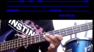 club foot - bass tab