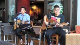Light On - David Cook (Cover) @Brandon's Starbucks Tour (Raffles City)