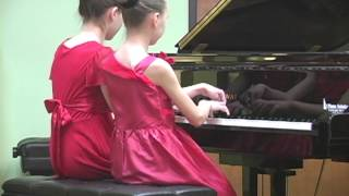 "Tchaikovsky. Waltz from ""Sleeping Beauty"" piano duet"