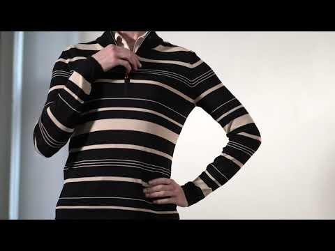 G2F21S350_Caravan 1/4-Zip Sweater