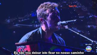 Coldplay - Life Is For Living  - Rock In Rio 2011 Tradução / Legenda HD