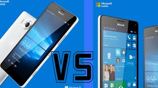 Microsoft Lumia 950 vs 950 XL - Specs Comparison Review!