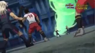 Inazuma eleven go vs danball senki W kazaana drive