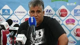 Déclarations d'après match des entraîneurs du Raja et du CAK