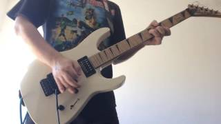 Dream of Mirrors - Iron Maiden (Janick Gers Guitar Solo Cover)
