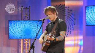 Ed Sheeran Performs Give Me Love in the House of Hits