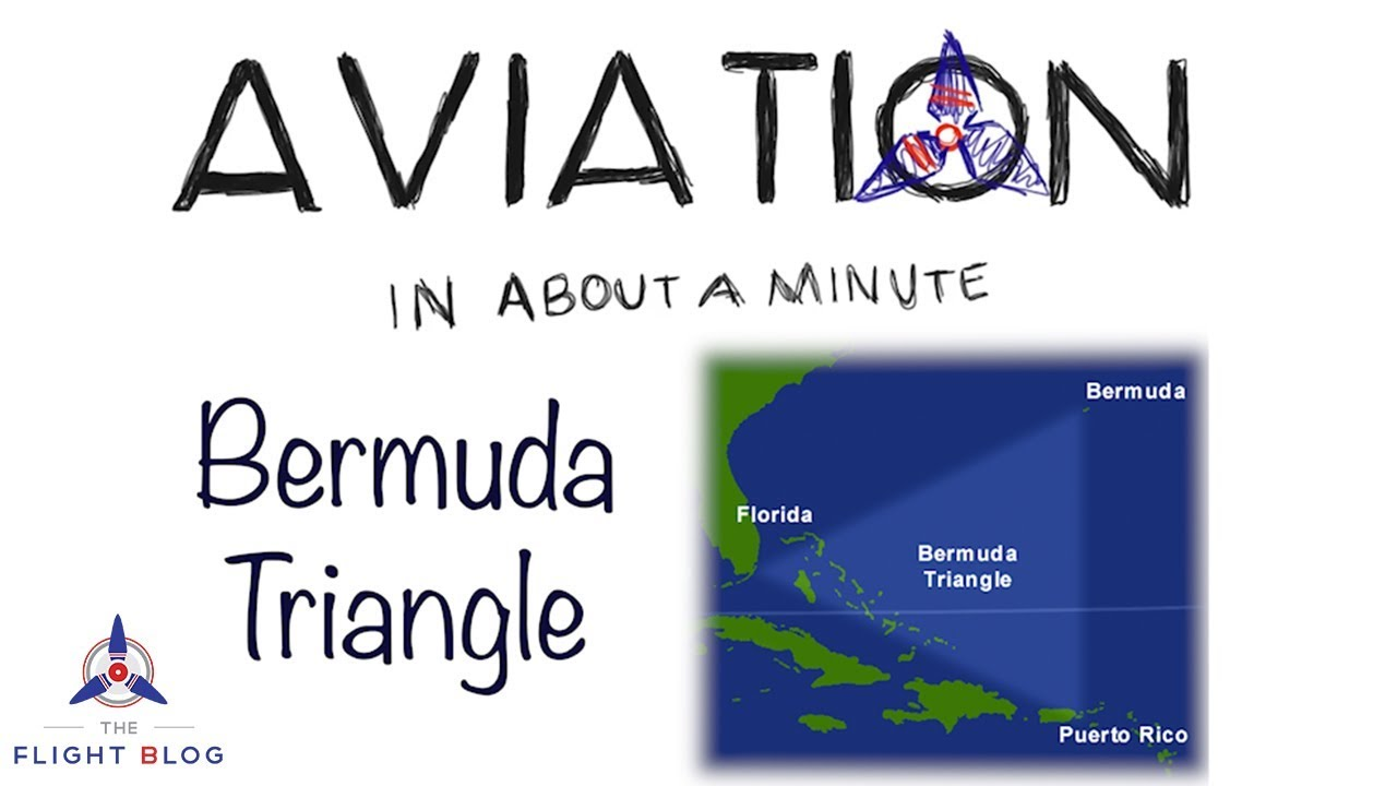 Aviation in about a minute Bermuda Triangle video