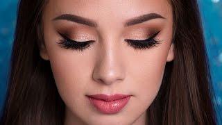 PROM Makeup Tutorial   EASY GLAM width=