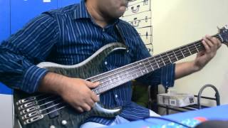 Lipps Inc. -  Funkytown(bass cover)