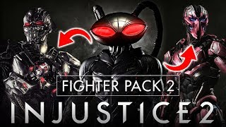 Injustice 2: FP2 Gameplay Reveal Date Changed, & Black Manta Gameplay Predictions!!