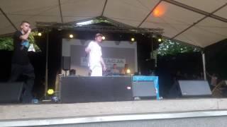 Bedoes - Parkometr Live Koncert Rap Stacja Wolsztyn 2017