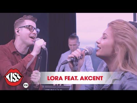 Lora & Akcent - Lasa-ma asa (Live @ Kiss FM)
