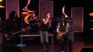 """Gotten"" - Slash feat. Adam Levine live at Ellen"