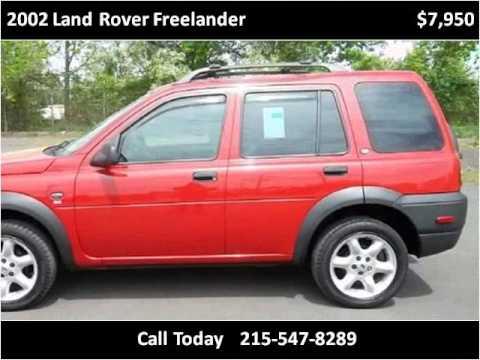 2002 land rover freelander problems online manuals and repair information. Black Bedroom Furniture Sets. Home Design Ideas