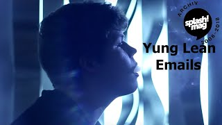 Yung Lean - Emails prod. by White Armor (Official Video)