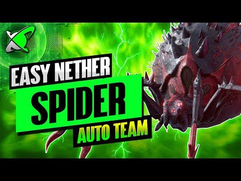 """EASY AUTO TEAM"" Agreth The Nether Spider | HARD Doom Tower Floor 20 | RAID: Shadow Legends"